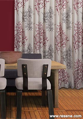 Resene Curtain Collection 2015 Coral