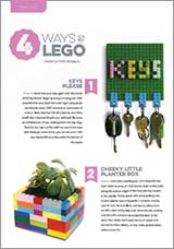 Make these fun things from LEGO