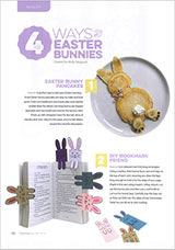 Make these funky Easter projects