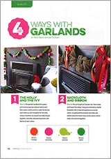 4 ways with garlands