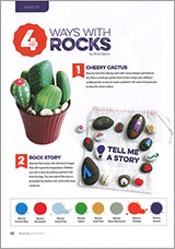 4 ways with rocks