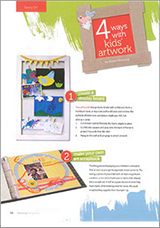 4 ways with kids' artwork