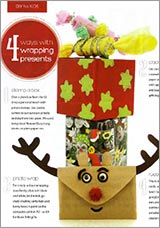 Get creative with your present wrapping