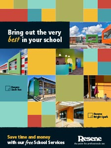 Download the Resene School Services brochure