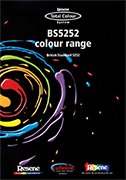 Resene BS5252 paint colour chart