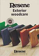 Resene Woodsman Exterior timber stains colour chart