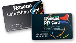 Resene ColorShop card special offers