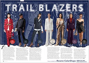 Trail blazers - a resurgence of the suit