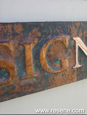 Signwriting projects described